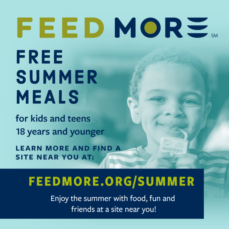 Feed More's Summer Food Service Program 2020