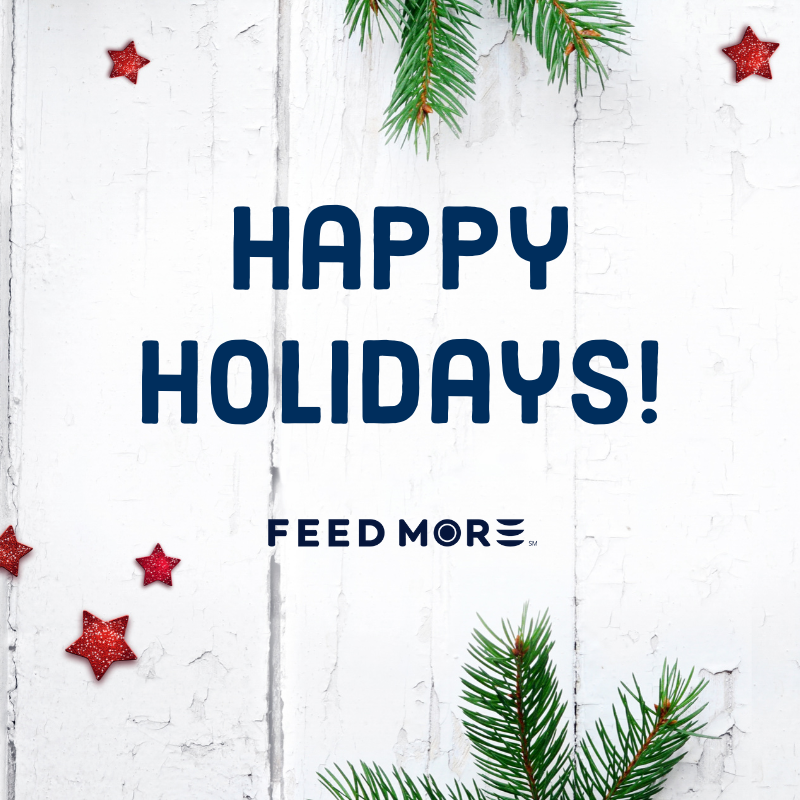 Happy Holidays 2019 from Feed More